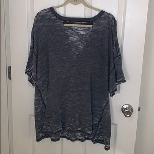 Free People V Cut Out Shirt